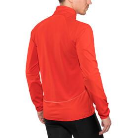 Odlo M's Zeroweight Windproof Warm Jacket fiery red